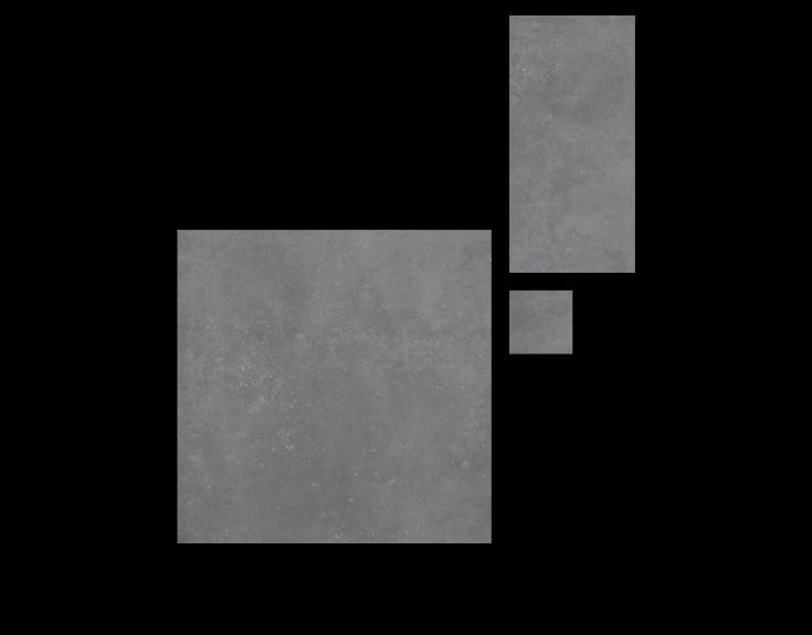 Lichtgrijze stone- en betonlook tegels