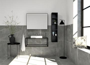 Marmerlook badkamer tegels