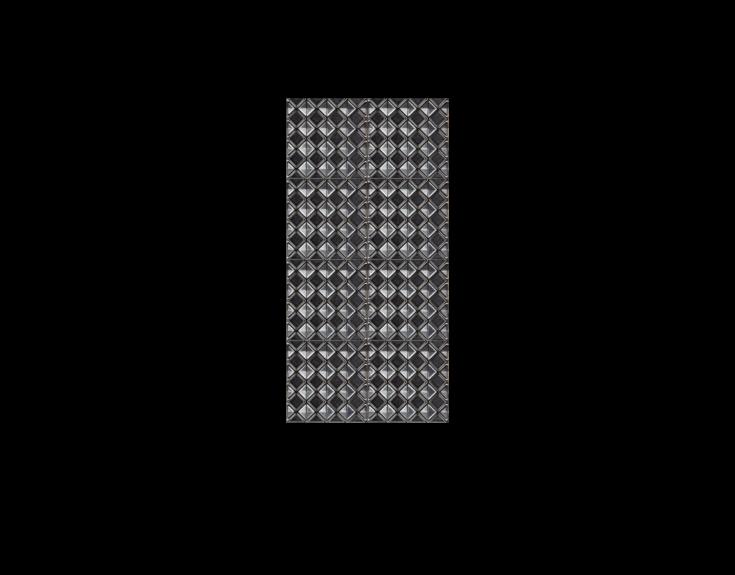 Zilveren reliëf tegel